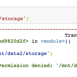 So iPython can't use the EC2 storage I paid for … solution